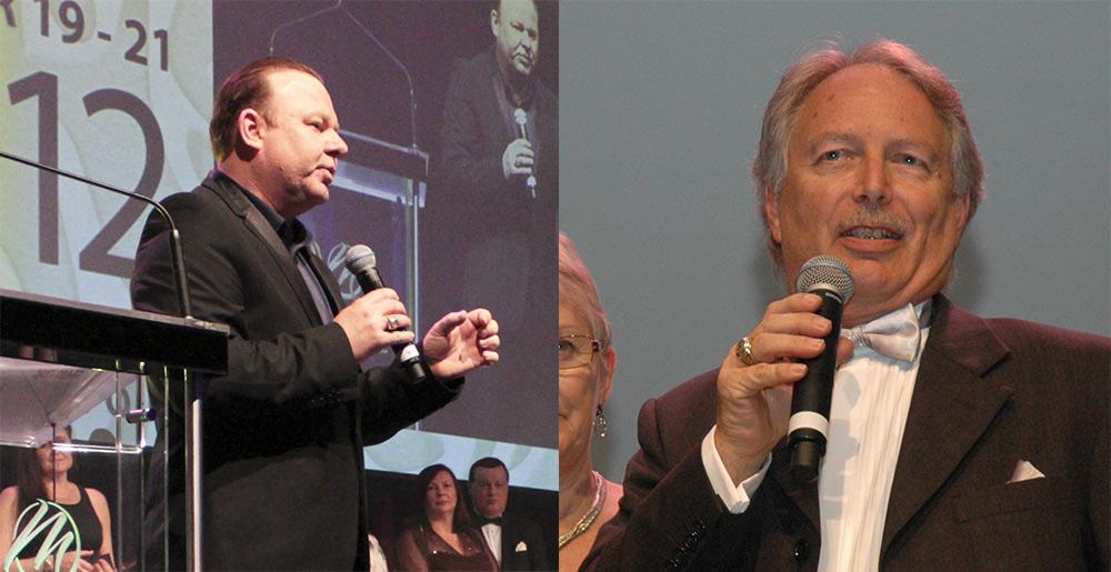 Mannatech Platinum Presidential Director Rod Gilchrist and Bronze Presidential Director Chris Gregory