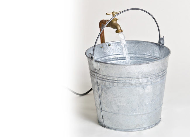 Have you filled someone's bucket today ?