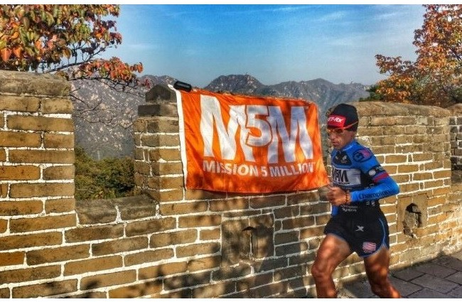 He made it – M5M China Run completed!