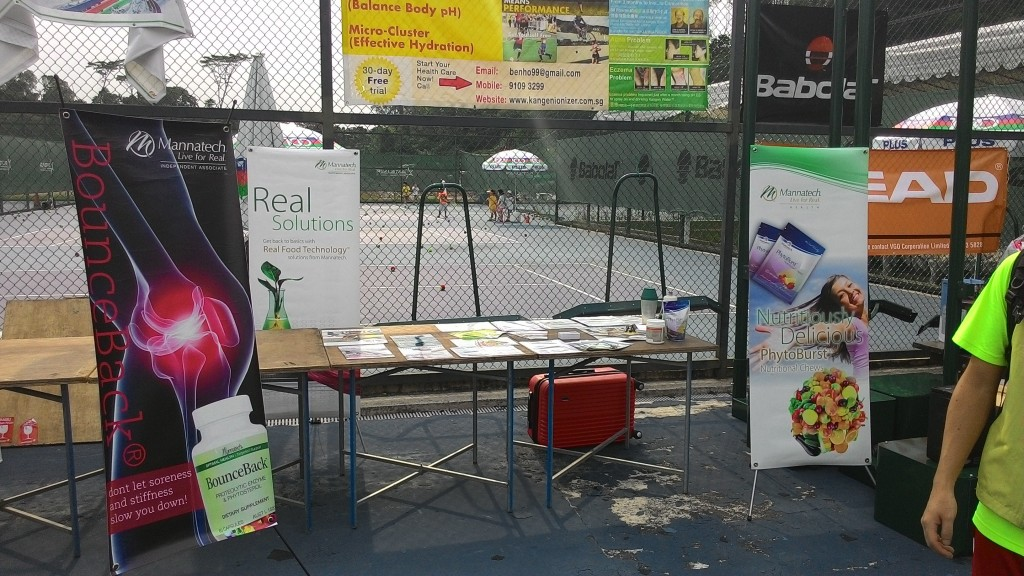 The Mannatech Stand at the Korea Ambassadors Cup