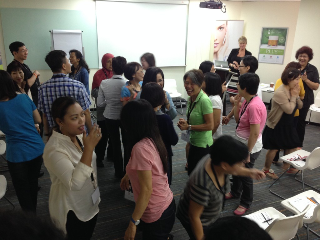 Group work with Singapore Associates