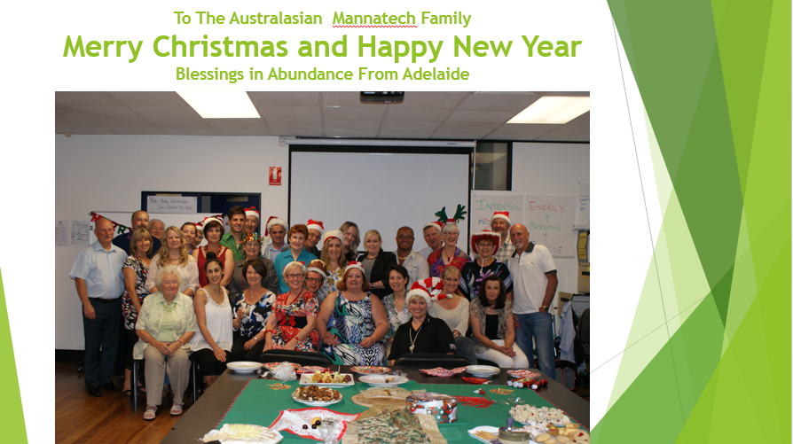 The festive Adelaide team
