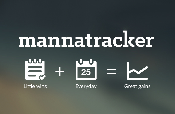 Sign up with Mannatracker: create daily habits to drive success