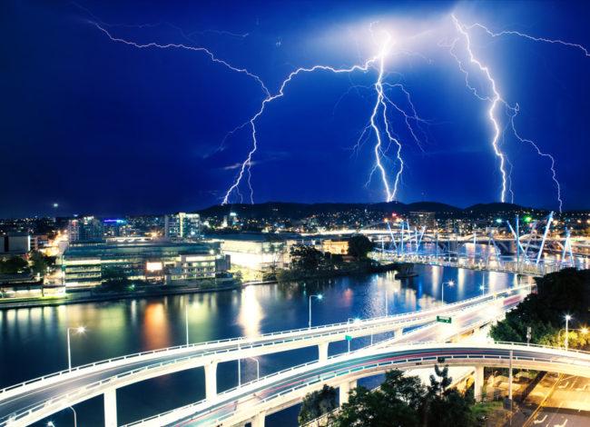 Stormy skies don't dampen the Mannatech spirit