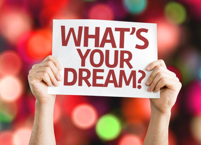 Never give up on your dreams, if you can dream it, you CAN DO it!