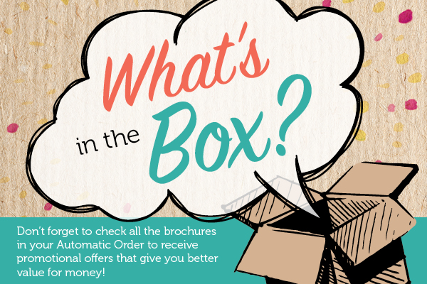 What's in the Box? Don't miss out on information