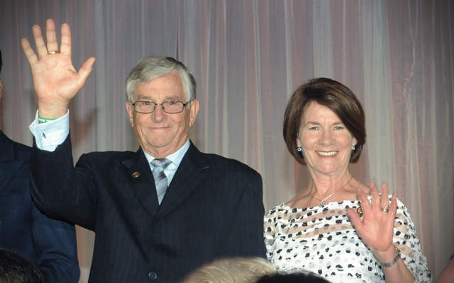 Bronze Presidential Director Judy & Trevor Abbott