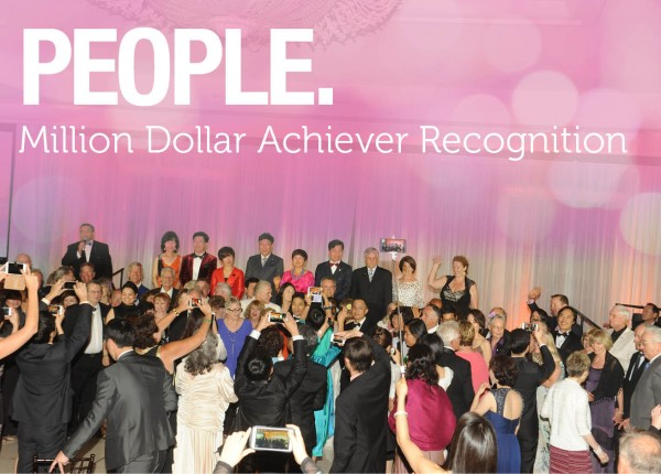 Million Dollar Achiever Recognition