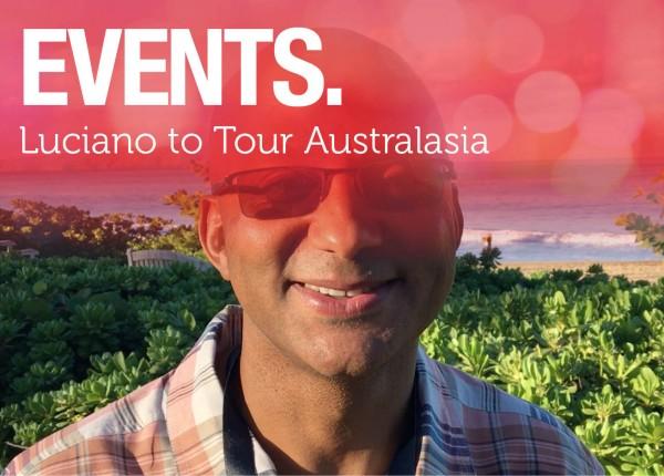 Luciano to Tour Australasia