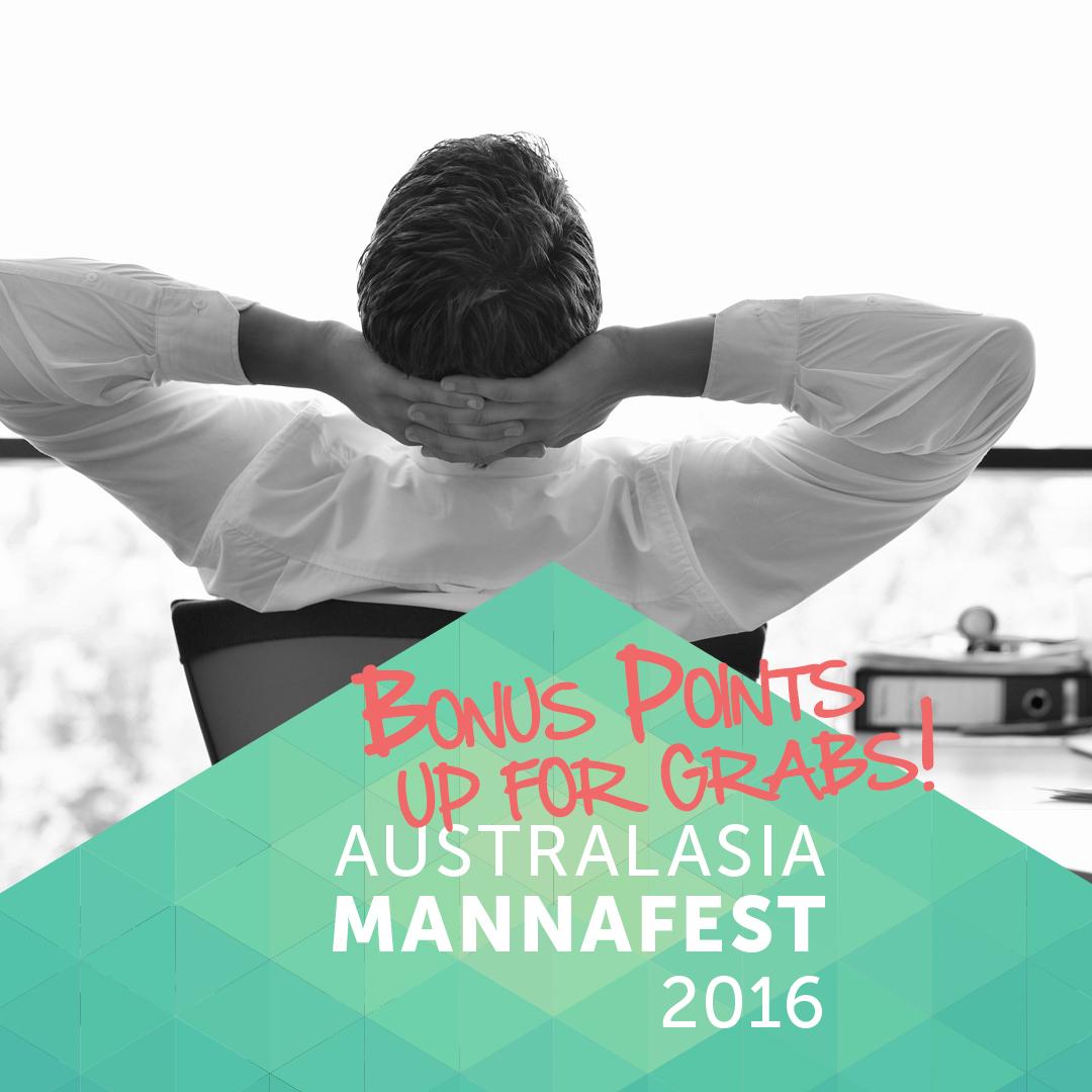 Post 2 - Bonus Points Mannafest