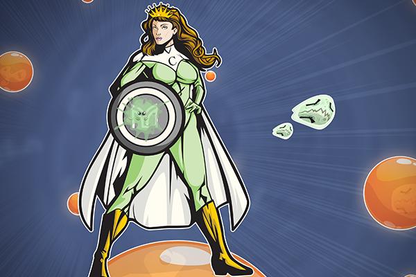 Meet the Queen of Immune Defence!