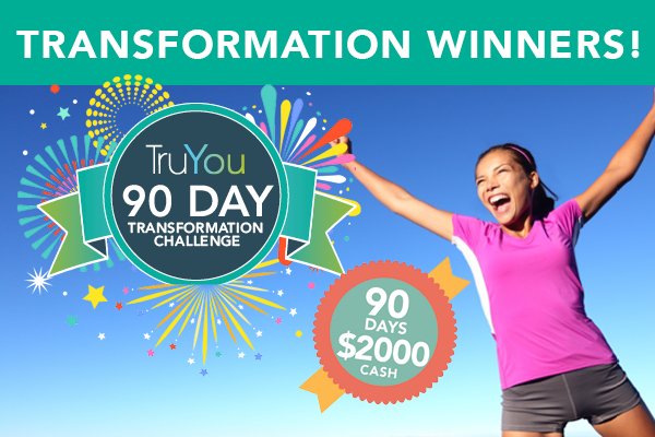 TruYOU 90 day Transformation Winners