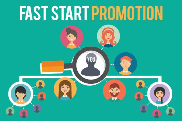 August/September Fast Start Promotion – Earn Extra $