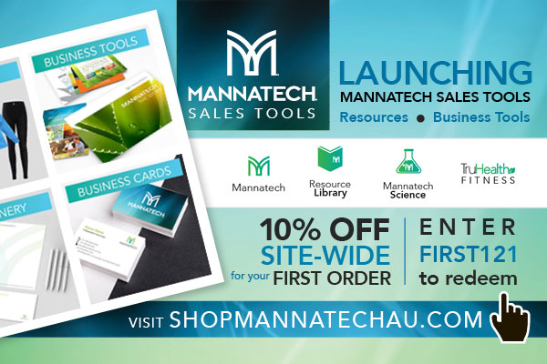 Mannatech Sales Tools Launched