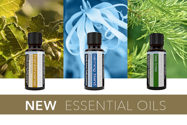 New 100% Essential Oils