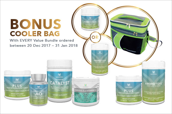 Bonus Cooler Bag – 20 Dec 2017 – 31 Jan 2018