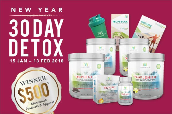 30 Day Detox Challenge