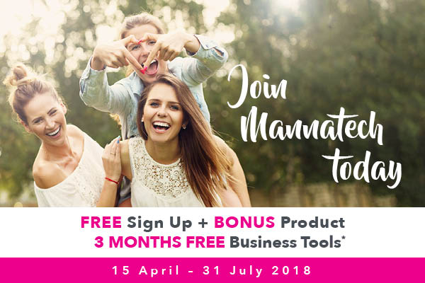 Join Mannatech for FREE