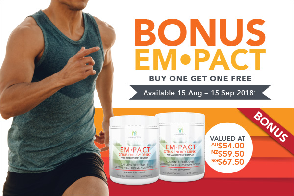 Empact – Buy One, Get One Free