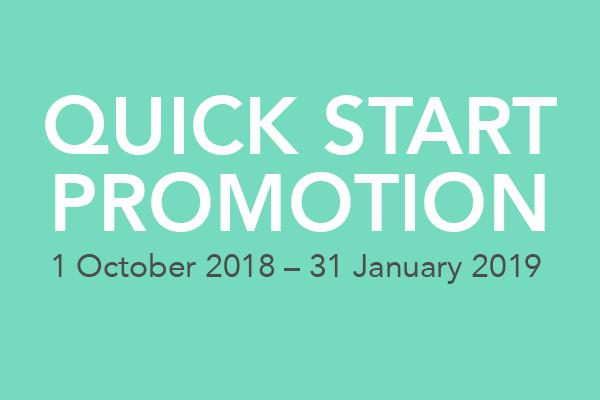Quick Start Promo