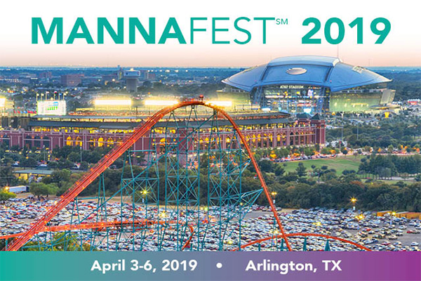 Mannafest 2019 available free via Livestream