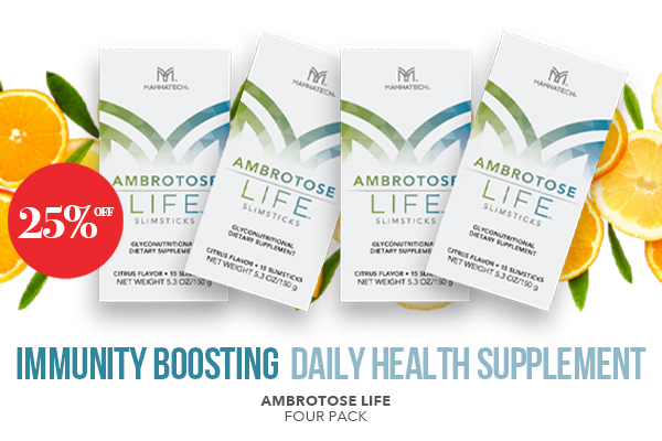 AMBROTOSE LIFE – 25% Off for a limited time!