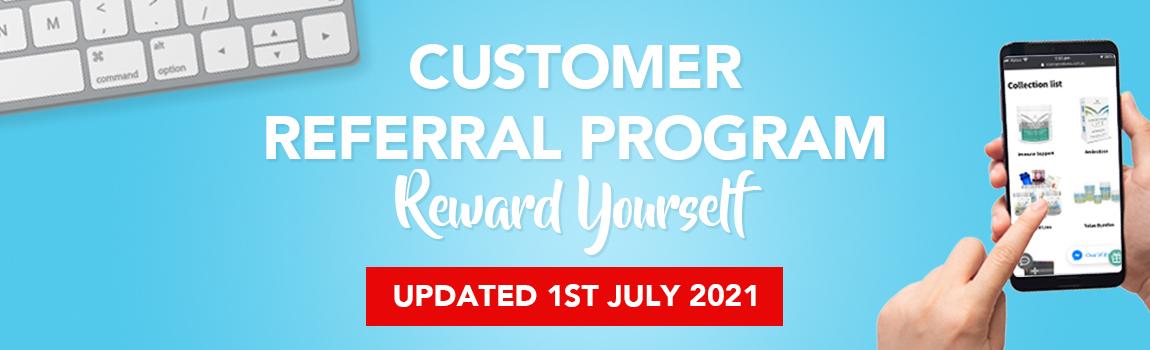 Customer Referral Program 2021