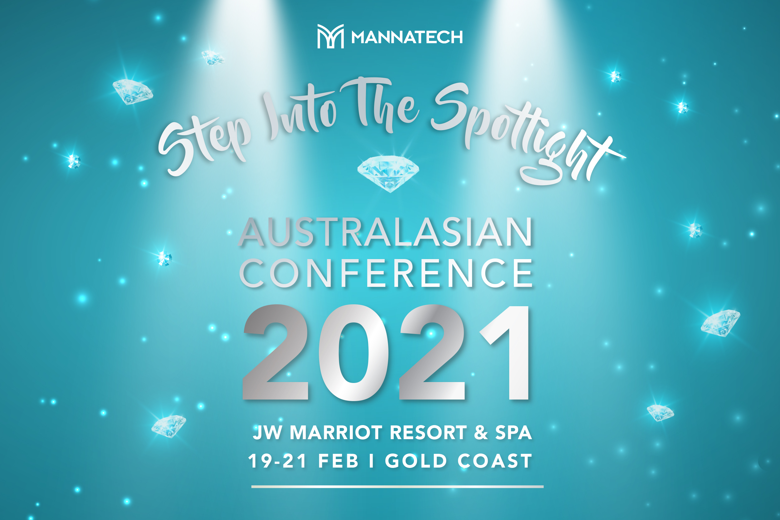 Australasian Conference 2021 – Step Into The Spotlight